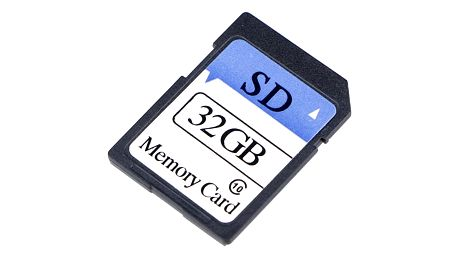Černá paměťová SD karta Class 10 - 8GB/16GB/32GB