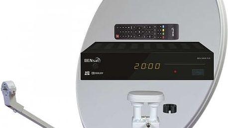HD satelitní komplet Bensat 380IR