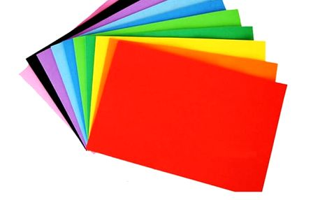 Pěnový papír pro kreativní tvoření - 10 kusů
