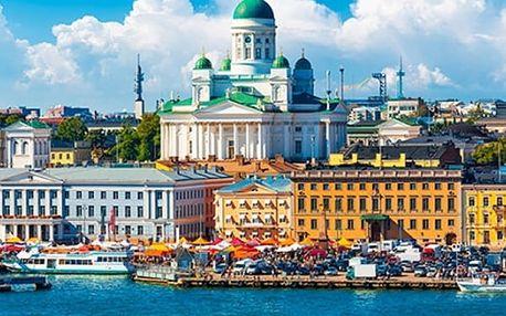 Poznávací zájezd do pobaltských zemí a Helsinek včetně ubytování - Vilnius, Riga, Tallinn.