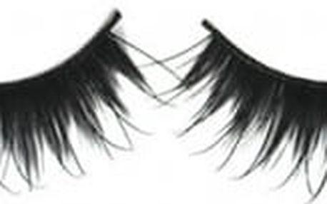 Nalepovací dlouhé řasy v černé barvě - 5 párů