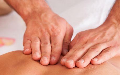 Síla doteků: Regenerační masáž v délce 40 minut