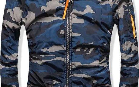 Dámská bunda Army modrá AKCE