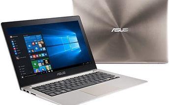 Notebook Asus UX303UB - dotykový (UX303UB-C4017T) hnědý