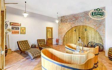 Pivní lázně luxusně v penzionu Obora