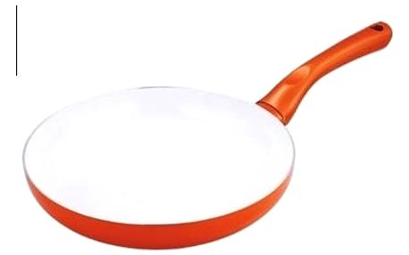 Pánev keramická Kaiserhoff KH 9741 oranžová
