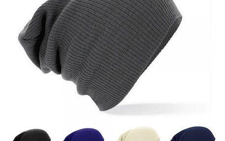 Trendy pletená čepice v různých barvách