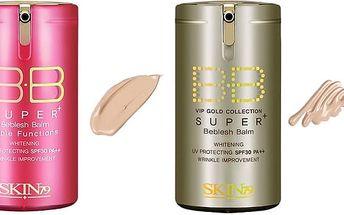 BB krémy UPgrade Hot Pink a UPgrade VIP Gold pro různé typy pleti