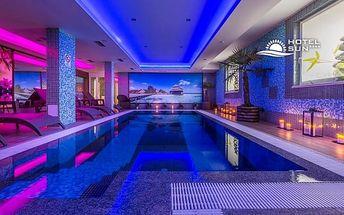 Sluneční jezera ve 4* hotelu s wellness