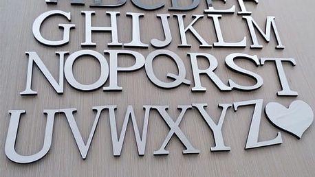 Zrcadlová 3D písmena