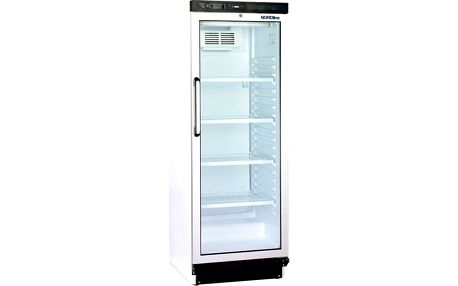 Chladící vitrína prosklené dveře NORDline FS 1280