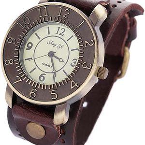 Analogové náramkové hodinky v retro stylu - dodání do 2 dnů