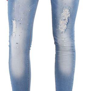 Dámské jeansové kalhoty Diamonds vel. EUR 36, UK 10