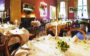 Královské hodování pro 1 nebo 2 osoby v Pálffy Palác restaurantu v Praze