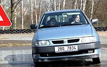 Škola smyku pro začátečníky i pokročilé. Nácvik krizových situací ve vlastním autě.
