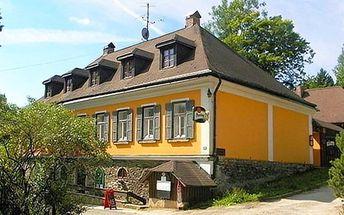 3–4denní pobyt s možností sauny pro 2–4 osoby v penzionu Stará Celnice v Krkonoších