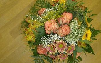 Vázané kytice pro začátečníky
