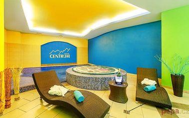 3–6denní wellness pobyt pro 2 s polopenzí v hotelu Centrum Harrachov v Krkonoších