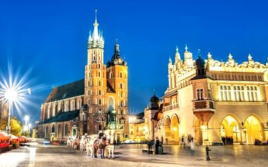 3–5denní pobyt pro 2 se slevami a saunou v hotelu Daisy*** Superior v Krakově
