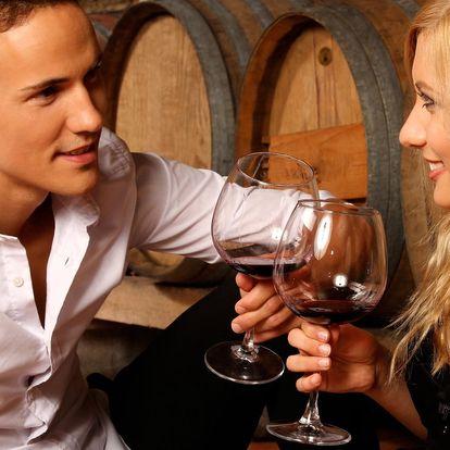 Pohoda v Mikulově se snídaní a degustací vína
