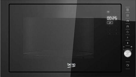Vestavná mikrovlnná trouba Beko MCB 25433 X