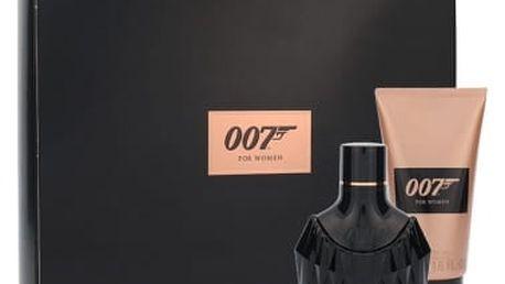 James Bond 007 James Bond 007 For Women dárková kazeta pro ženy parfémovná voda 30 ml + sprchový gel 50 ml