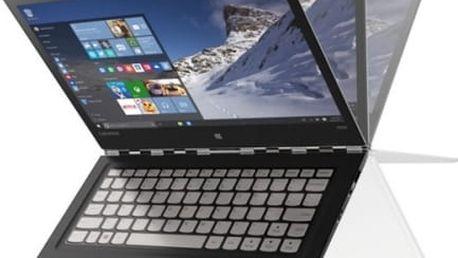Notebook Lenovo YOGA 900S-12ISK (80ML004TCK) stříbrný