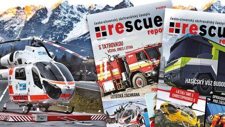 Roční předplatné Rescue reportu pro záchranáře