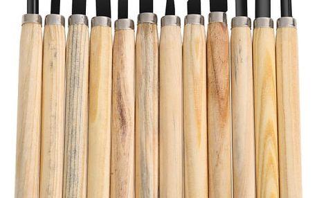 Sada nožů k řezbářské práci - 12 ks