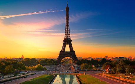 Poznávací zájezd do Paříže s ubytováním, snídaní a koupání v Aquaboulevardu pro jednu osobu.