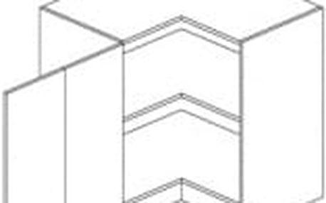 NIKA, dolní rohová skříňka, portál višeň korea, levá DOPRODEJ