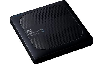 WD My Passport Wireless Pro, SD, wi-fi - 3TB - WDBSMT0030BBK-EESN