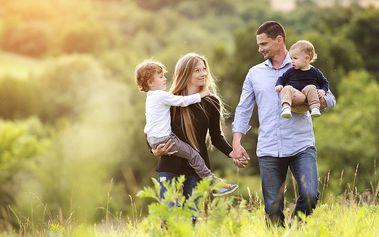 Rodinný pobyt u Vranova s polopenzí i wellness