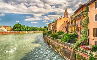 Itálie, Verona: 3denní výlet pro 1 osobu, jezero Lago di Garda, návštěva Veronské arény