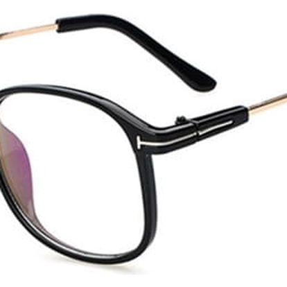 Moderní brýle s obroučky větších rozměrů