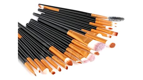 Sada 20 ks kosmetických štětců - více barev
