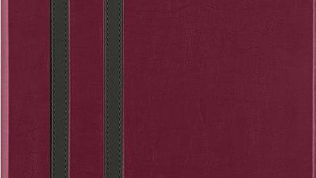 Belkin iPad Air 1/2 pouzdro Athena Twin Stripe, tmavě červená - F7N320btC03