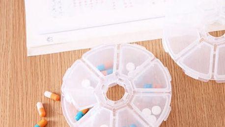 Krabička na léky - 8 přihrádek