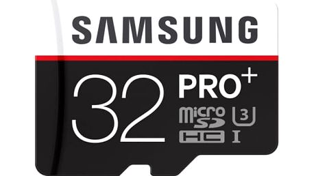 Paměťová karta Samsung 32GB UHS-I U3 (95R/90W) + adapter (MB-MD32DA/EU)
