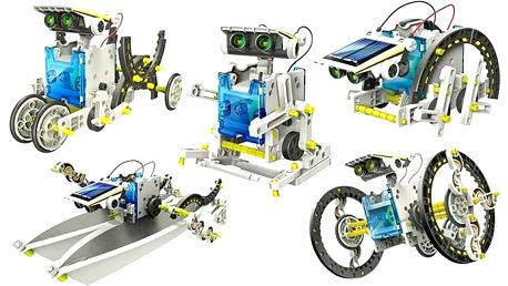 Obojživelný solární robot 14 v 1 – stavebnice pro zábavu i rozvoj intelektu