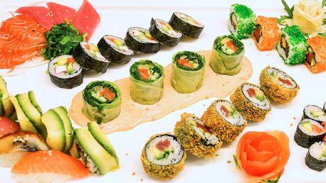 Vyladěné sushi sety, které nasytí 2 samuraje