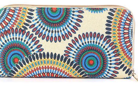Fashion Icon Dámská peněženka Mandala barevná