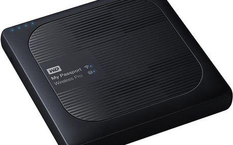 WD My Passport Wireless Pro, SD, wi-fi - 3TB - WDBSMT0030BBK-EESN