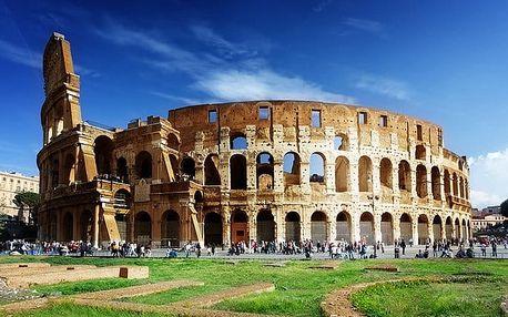5denní zájezd do 4 italských měst s ubytováním v hotelu se snídaní pro 1 osobu