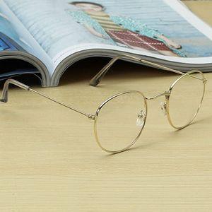 Módní oválné retro brýle