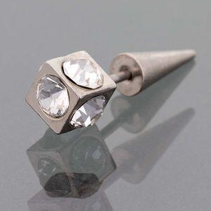 Piercing do ucha hrot krystalky
