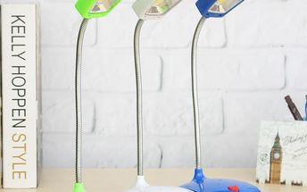 Stolní USB LED lampička se srdíčkem - 3 barvy