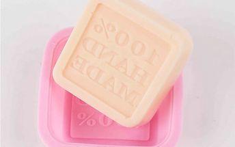 Silikonová forma pro výrobu mýdla s nápisem