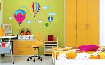 Nalepte.cz Létající balóny 30 x 60 cm