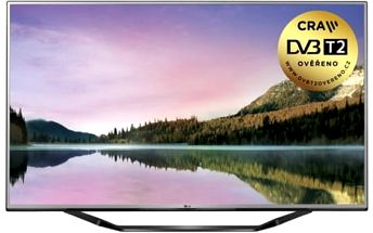 Televize LG 60UH6257 stříbrná